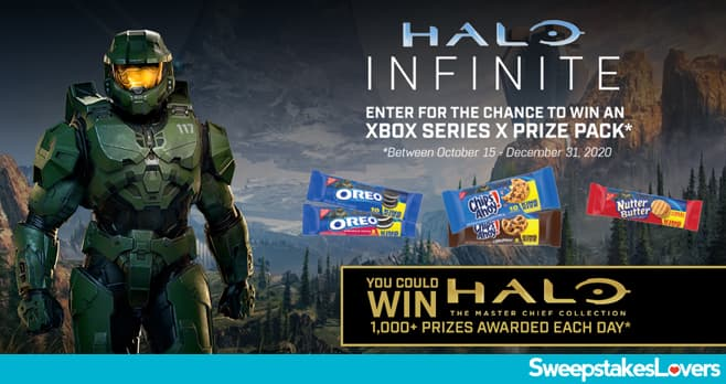 Nabisco Xbox Halo Infinite Sweepstakes 2020
