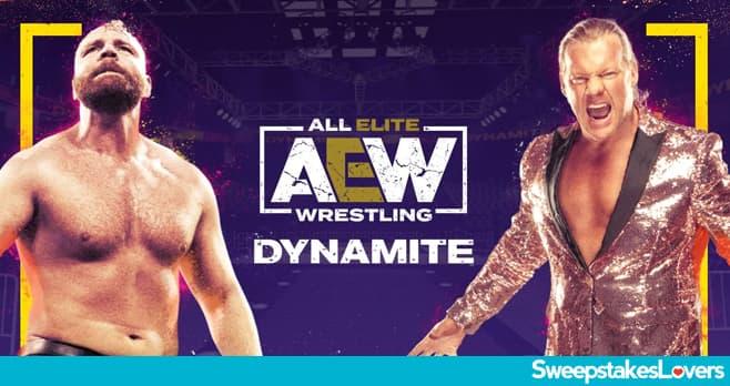 TNT AEW Wrestling Sweepstakes 2020