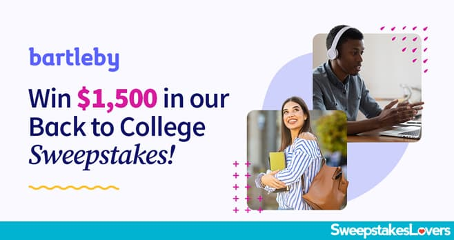 bartleby Back to College Sweepstakes 2020