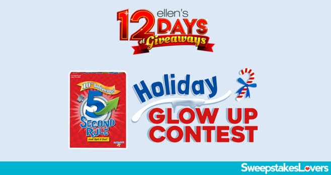 Ellentube 5 Second Holiday Glow Up Contest 2020