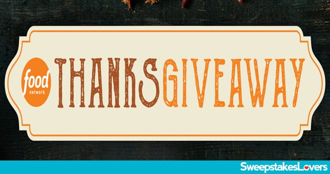 Food Network Thanksgiving Giveaway 2020