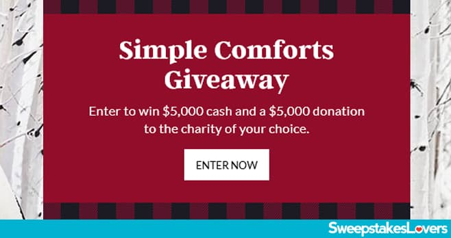 Lands End Simple Comforts Giveaway 2020