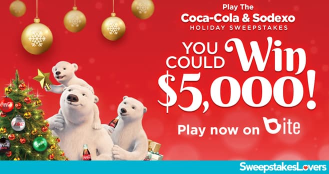 Sodexo Play This Holiday Sweepstakes 2020
