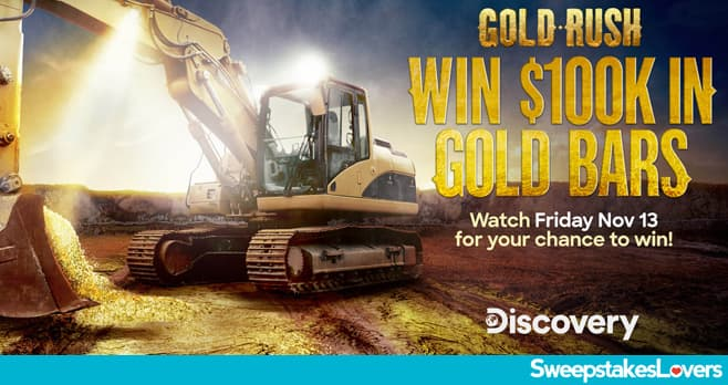 The Discovery Channel Friday Gold Giveaway 2020