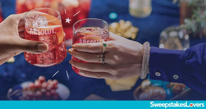 Absolut Holiday Sweepstakes 2020