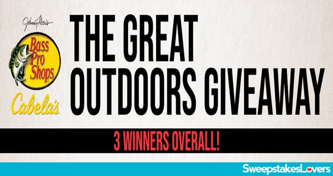 Bass Pro Shops Great Outdoors Giveaway 2020