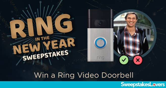 INSP.com Ring in the New Year Sweepstakes 2020