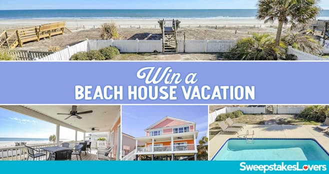 Myrtle Beach Beach House Vacation Giveaway 2020