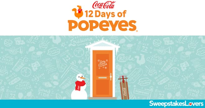 Popeyes 12 Days Of Popeyes Sweepstakes 2020
