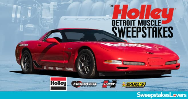 Powernation Holley Muscle Car Sweepstakes 2020
