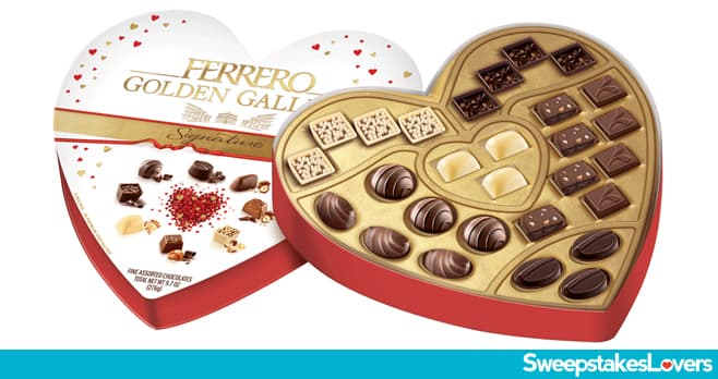 Ferrero Golden Gallery Signature Valentine's Day Tasting Sweepstakes 2021