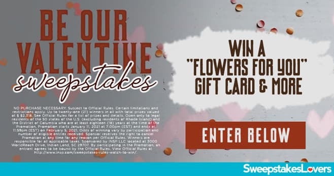 INSP.com Be Our Valentine Sweepstakes 2021