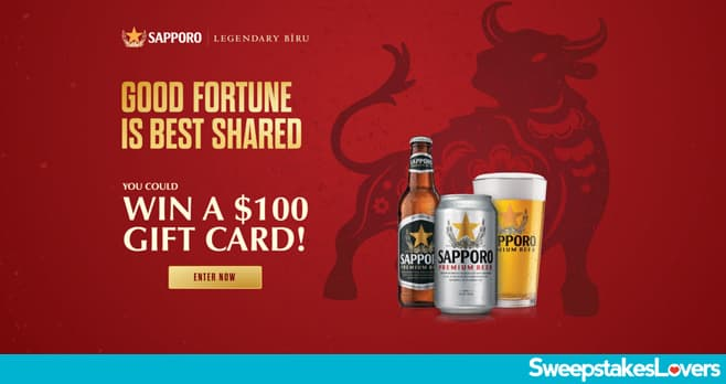 Sapporo Lunar New Year Sweepstakes 2021