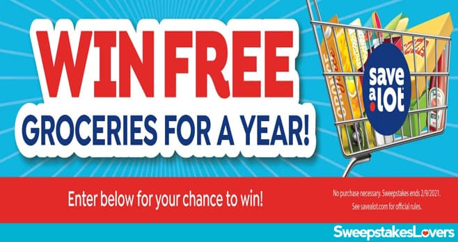 Save-A-Lot Free Groceries For A Year Sweepstakes 2021