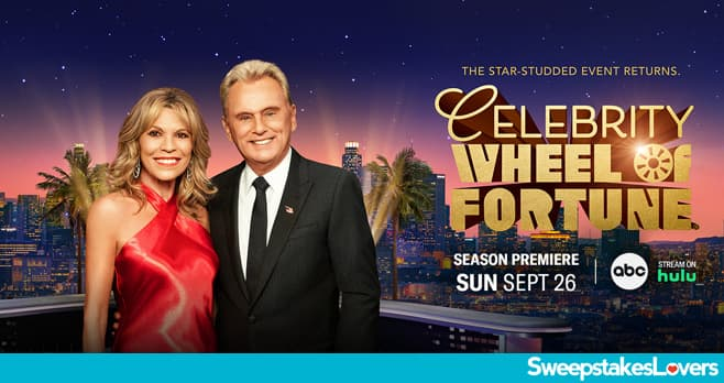 Wheel Of Fortune Celebrity Giveaway 2021