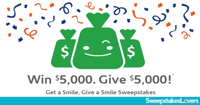 Acceptance Insurance Get A Smile, Give A Smile Sweepstakes 2021