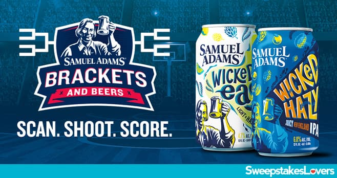 Sam Adams Brackets and Beers Sweepstakes 2021