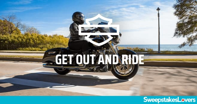Harley-Davidson Get Out and Ride Instant Win and Sweepstakes 2021