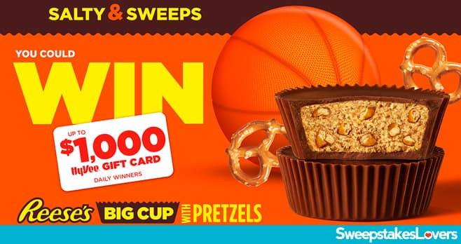 Hy-Vee Reese's March Madness Instant Win & Sweepstakes 2021