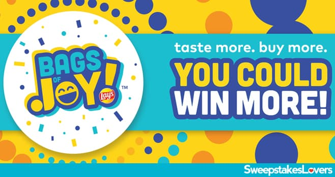 Lay's Bags Of Joy Instant Win Game 2021