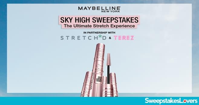 Maybelline Sky High Sweepstakes 2021