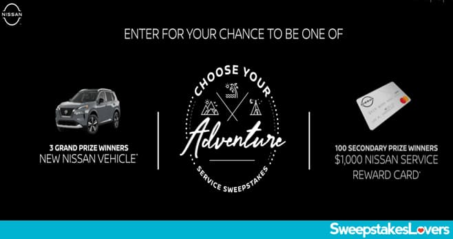 Nissan Choose Your Adventure Sweepstakes 2021