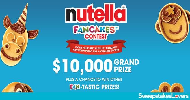 Nutella Fancakes Contest 2021