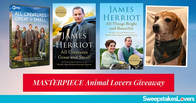 PBS MASTERPIECE Animal Lovers Giveaway 2021