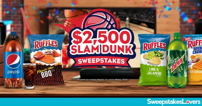 Tasty Rewards $2,500 Slam Dunk Sweepstakes 2021