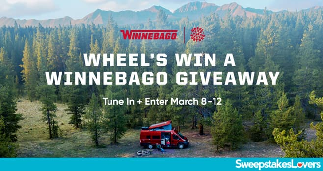 Wheel Of Fortune Winnebago Giveaway 2021