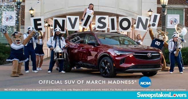 Buick Envision Greatness Challenge 2021