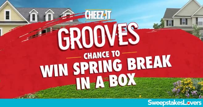 Cheez-It Grooves Spring Break In A Box Sweepstakes 2021