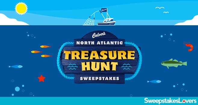 Culver's North Atlantic Treasure Hunt Instant Win Game and Sweepstakes 2021