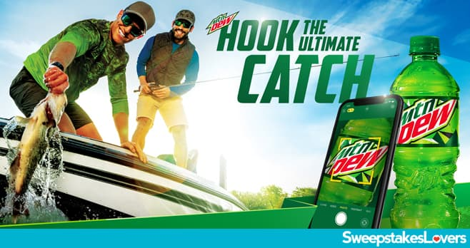 Mountain Dew Ultimate Catch Instant Win Game & Sweepstakes 2021