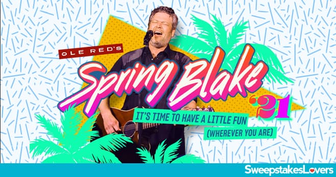 Ole Red Spring Blake Sweepstakes 2021