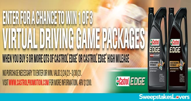 O'Reilly Driving Game Sweepstakes 2021