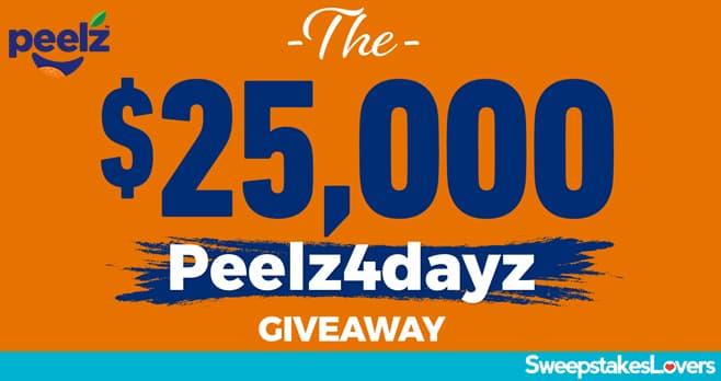 Peelz 4 Dayz Sweepstakes 2021