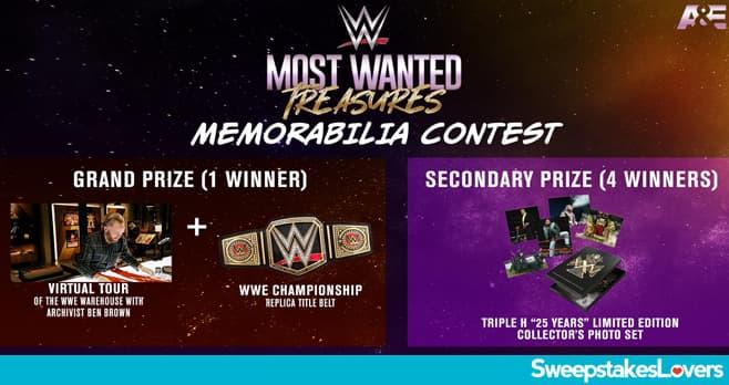 A&E WWE Sweepstakes 2021