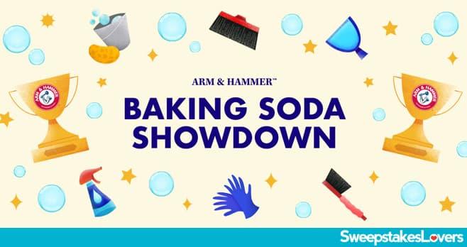 ARM & HAMMER Baking Soda Showdown Sweepstakes 2021