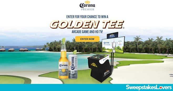 Corona Premier Golden Tee Golf Sweepstakes 2021
