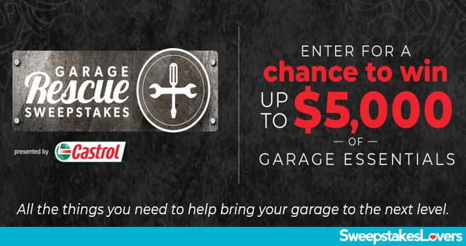 Discovery Ultimate Garage Rescue Sweepstakes 2021