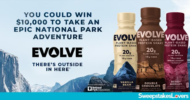 Drink Evolve Sweepstakes 2021