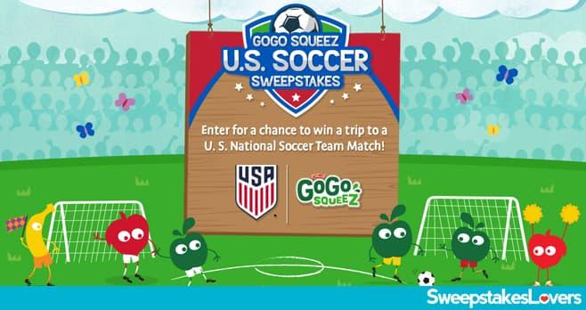 GoGo squeeZ U.S. Soccer Sweepstakes 2021