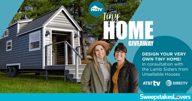 HGTV Tiny House Giveaway 2021