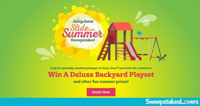 Juicy Juice Slide into Summer Sweepstakes 2021