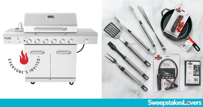 Nexgrill Everyone's Invited Grill Bundle Giveaway 2021
