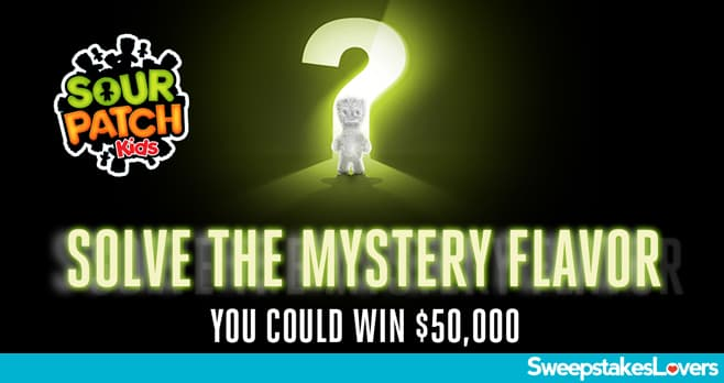 SOUR PATCH Kids Mystery Instant Win Sweepstakes 2021