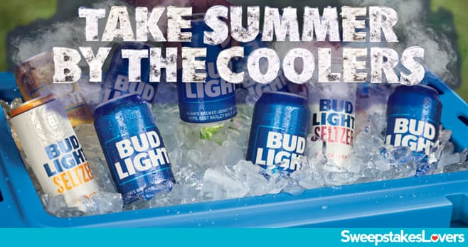 Bud Light Cooler Sweeptakes 2021