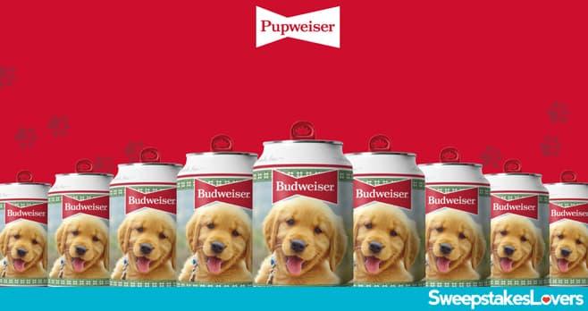 Budweiser Pupweiser Dog Contest 2021