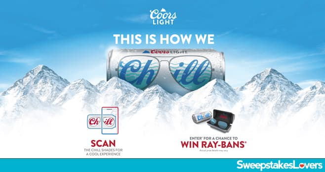Coors Light Summer Sweepstakes 2021